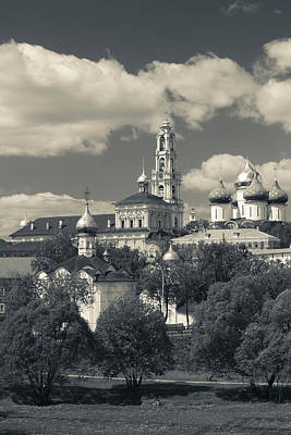 Trinity Monastery Of St. Sergius Poster by Panoramic Images