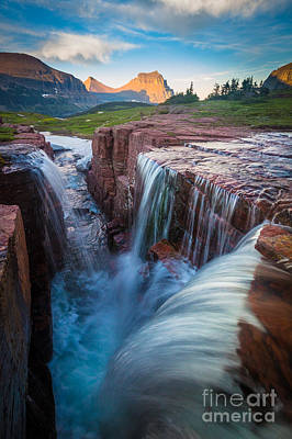 Triple Falls Cascades Poster