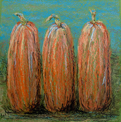 Triplets Poster by Linda Krukar