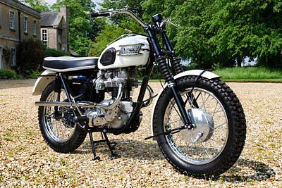 Triumph Bonneville T120c Poster
