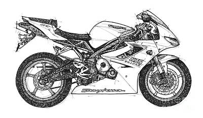 Triumph Daytona Poster