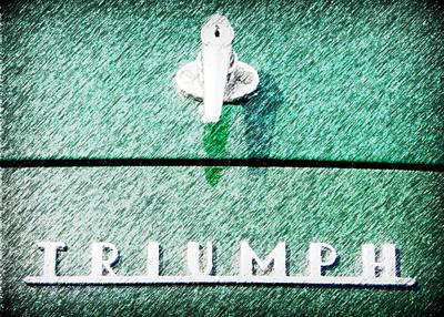 Triumph Poster by Karyn Robinson