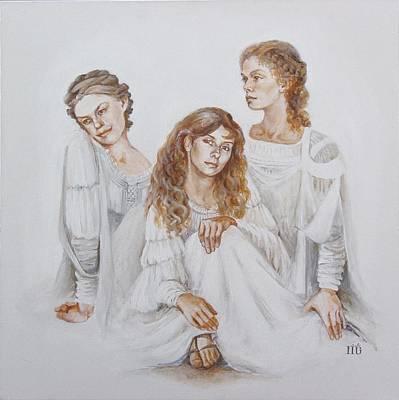 Trois Poster by Marina Gnetetsky
