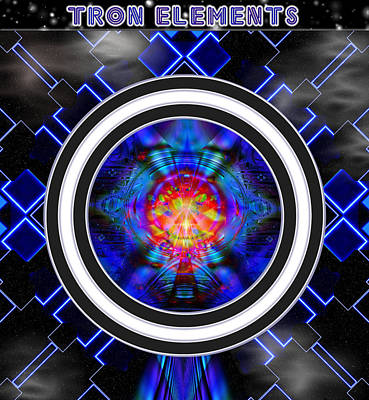 Tron Elements Poster