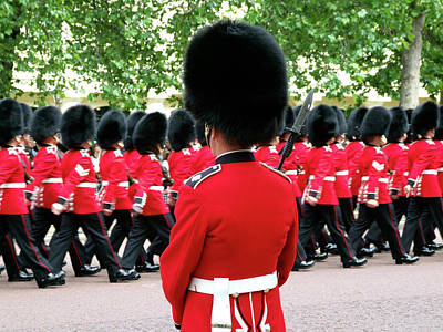 Trooping Of The Colour, London, England Poster by Alex Bartel