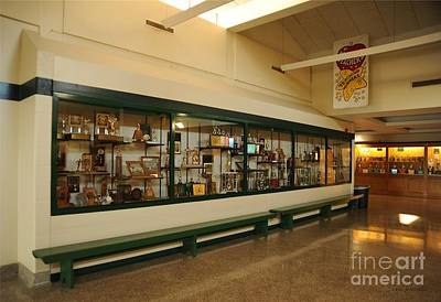 Trophy Case At Clare High School Poster
