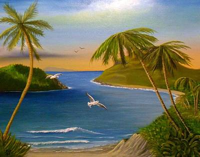 Tropical Escape Poster by Sheri Keith