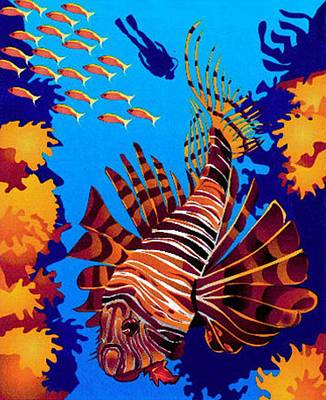 Tropical Fish Poster by Prentice Morris