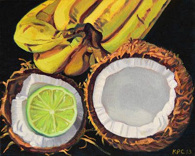 Tropical Poster by Kenneth Cobb
