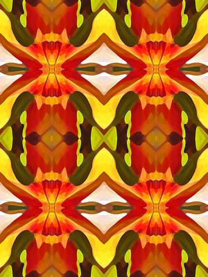 Tropical Leaf Pattern 10 Poster