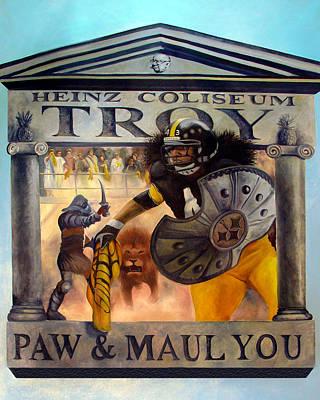 Troy Polamalu Poster