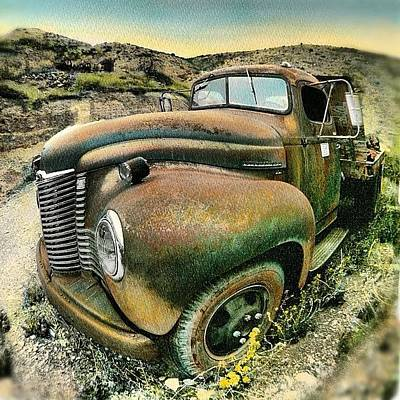 #truck #rust #rusty #pickup #photo Poster