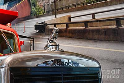 Truck - The Mack Bulldog Poster by Paul Ward