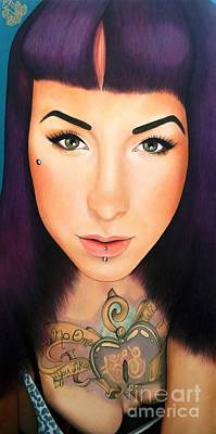 True Beauty - Danielle St Laurent Poster