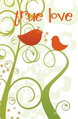 True Love Birds Poster