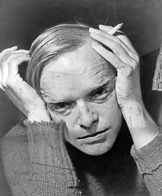 Truman Capote Poster by Mountain Dreams
