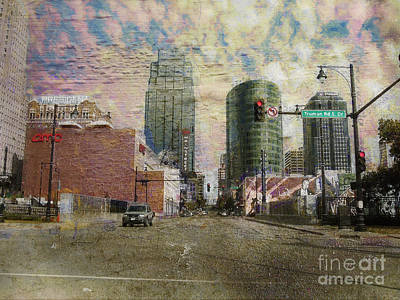 Poster featuring the photograph Truman Road Kansas City Missouri by Liane Wright