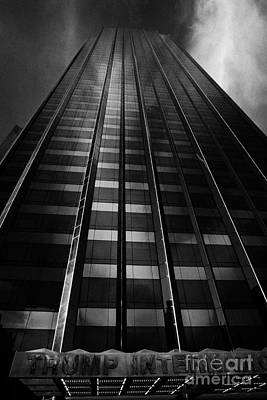Trump International Tower And Hotel Former Gulf Western One Central Park West New York City Poster by Joe Fox