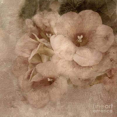 Trumpet Flowers #2 Poster by Betty LaRue
