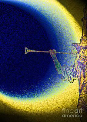 Trumpet Moon Poster