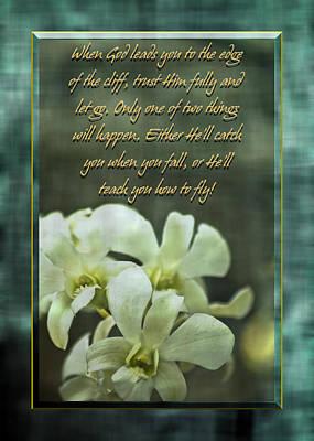 Trusting God Poster by Carolyn Marshall