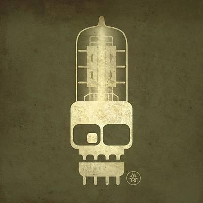 Tubeskull Poster by Milton Thompson