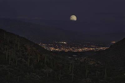 Tucson At Dusk Poster