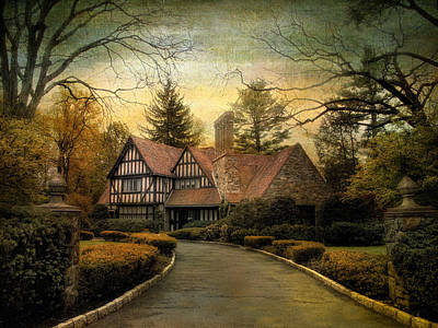 Tudor Road Poster by Jessica Jenney