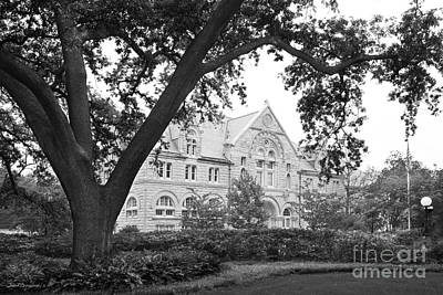 Tulane University Tilton Hall Landscape Poster by University Icons