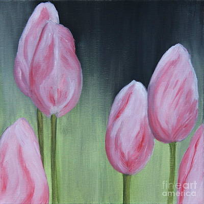 Tulip Dream - Oil Painting Poster