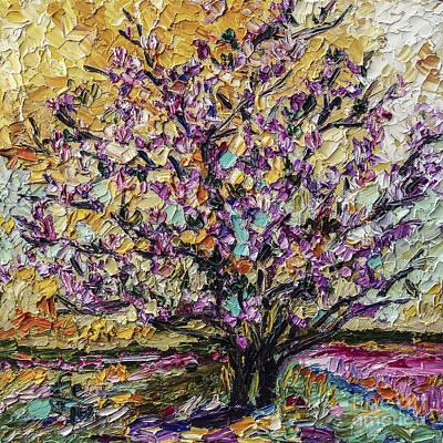Tulip Magnolia Tree Poster
