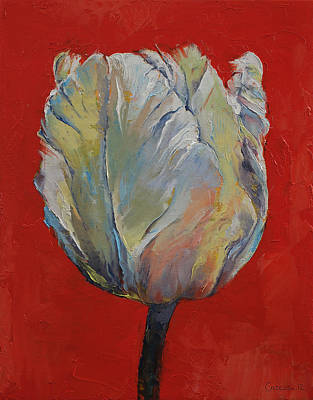 Tulip Poster by Michael Creese