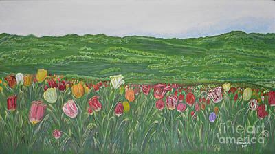 Tulips Dream Poster by Felicia Tica