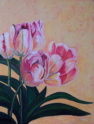Tulips Poster by Krista Ouellette