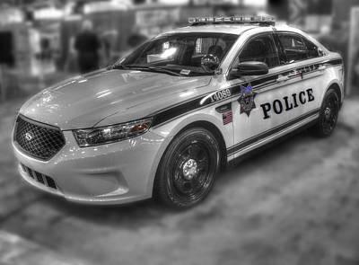 Tulsa Police At State Fair P1 Poster