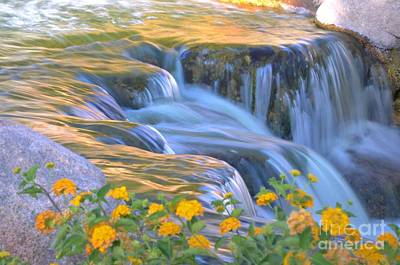 Tumbling Waters Poster by Deb Halloran