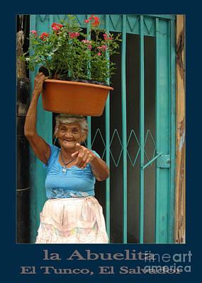Tunco Card Llevo Plantas Blu Poster by Stav Stavit Zagron