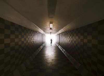 Tunnel Poster by Ivan Vukelic