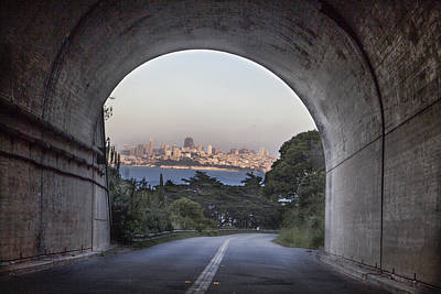 Tunnel To San Fransico Poster by John McGraw