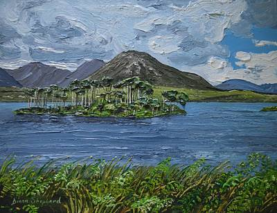 Derryclare Lake Recess Connemara Poster