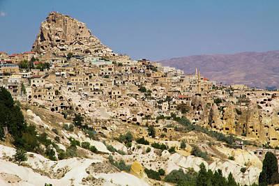 Turkey, Cappadocia, Ortahisar Poster by Emily Wilson