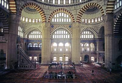 Turkey, Edirne, Selimye Cami Mosque Poster