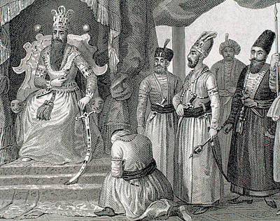 Turkey Ottoman Empire Sultan Receiving Poster by Prisma Archivo