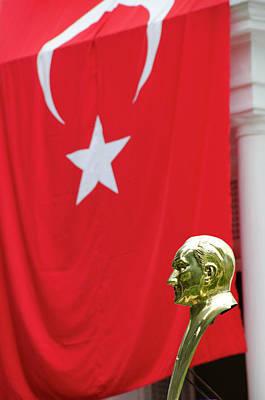 Turkey, Trabzon Mustafa Kemal Ataturk Poster