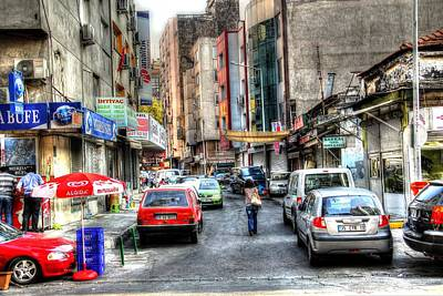 Turkish Street Poster by Mark Alexander