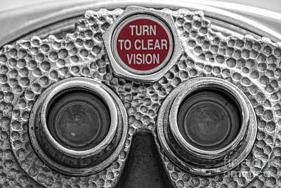 Turn To Clear Vision Poster by Juli Scalzi