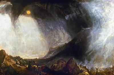 Turner Hannibal (247-183 B Poster by Granger