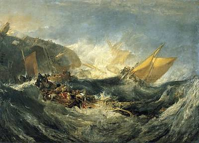 Turnerjoseph Mallord William 1775-1851 Poster by Everett