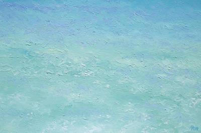 Turquoise Ocean 3 Poster by Jan Matson
