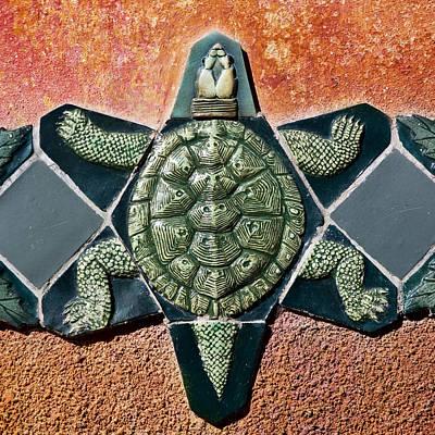 Turtle Mosaic Poster